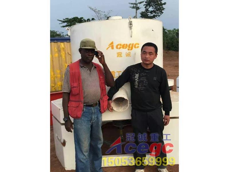 加纳客户订gou99zhen人重工沙金设备