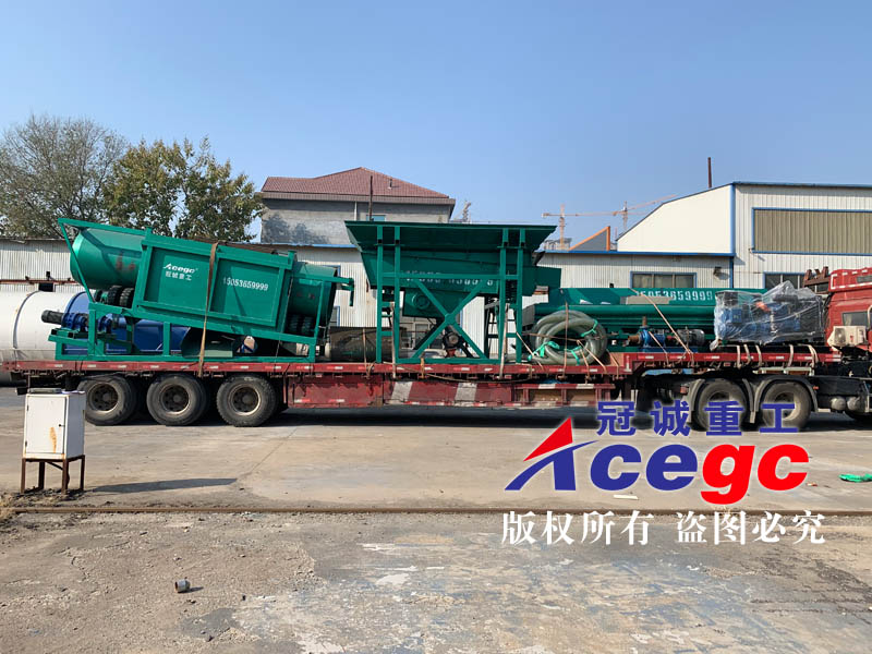 淘沙金设备发往外蒙古国