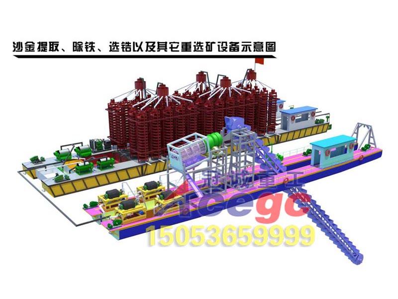 沙金提取-重xuan矿设备